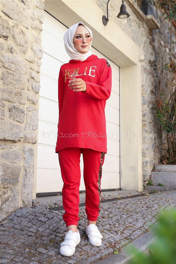 Tunic Pant Red - 8328