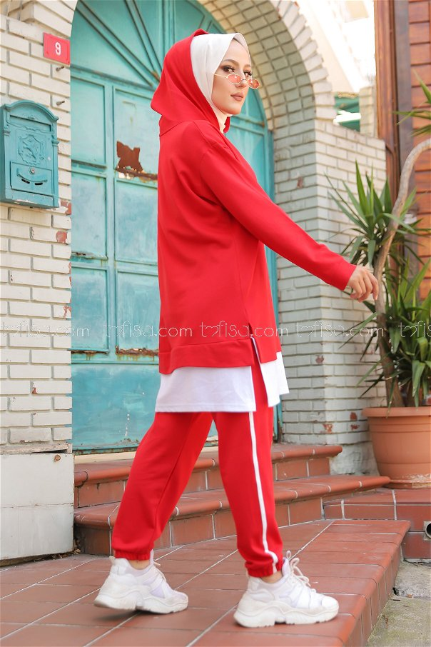 Tunic Pant Red - 8330