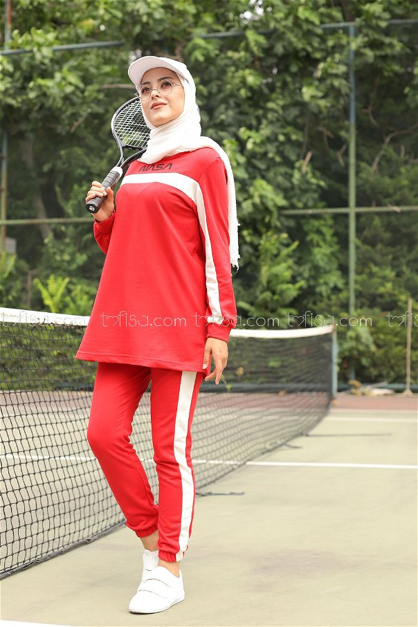 Tunic Pant Red - 8412