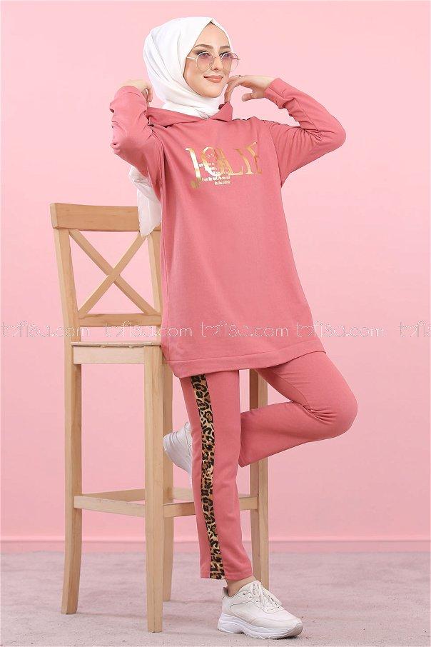 Tunic Pant Rose - 8328