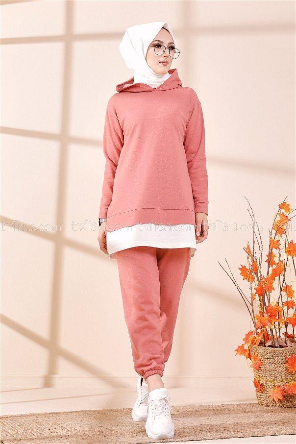 Tunic Pant Rose - 8330