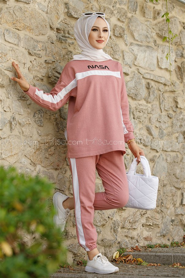 Tunic Pant Rose - 8412