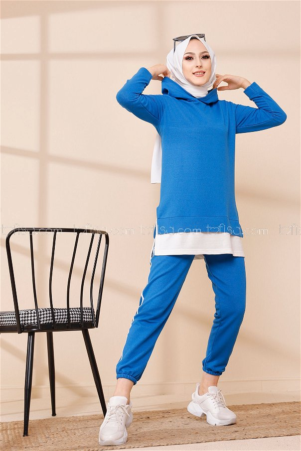 Tunic Pant Sax - 8330