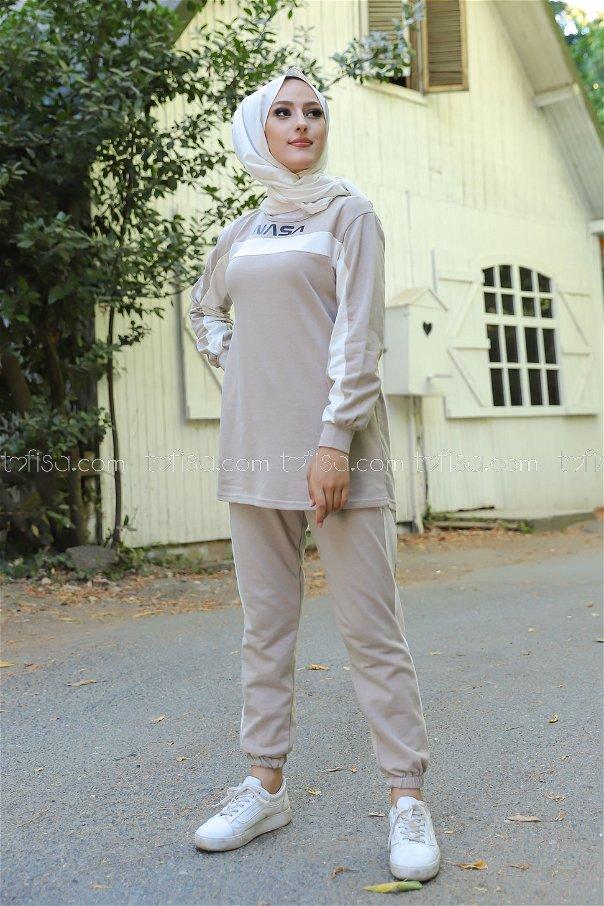 Tunic Pant Stone - 8412