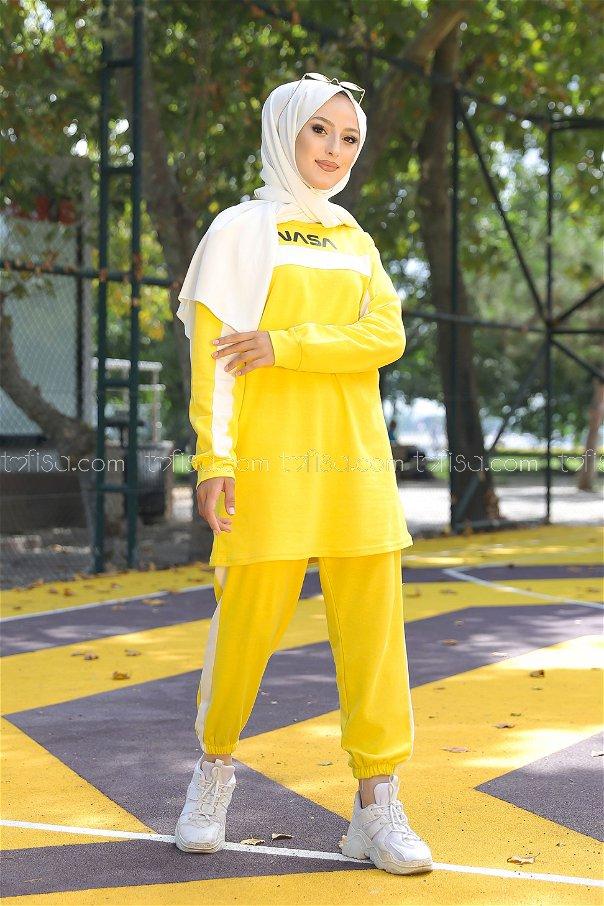 Tunic Pant Yellow - 8412