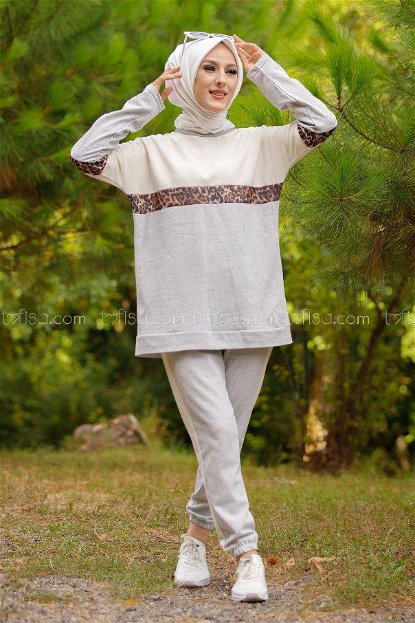 Tunic Pants GRAY - 8828