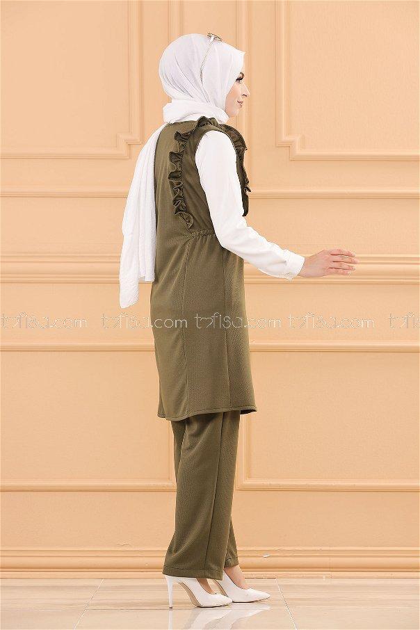 Tunic Pants Khaki - 3710