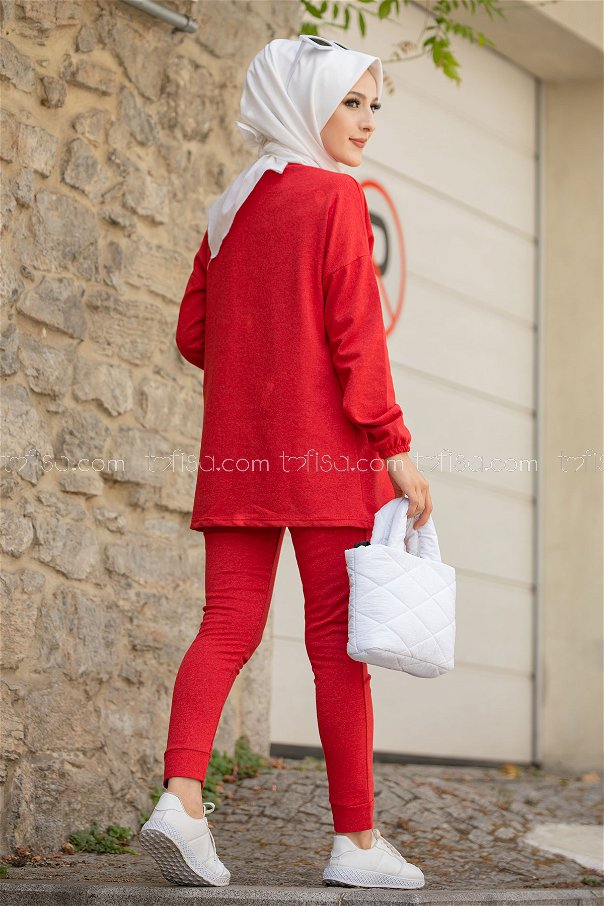 Tunic Pants RED - 8723