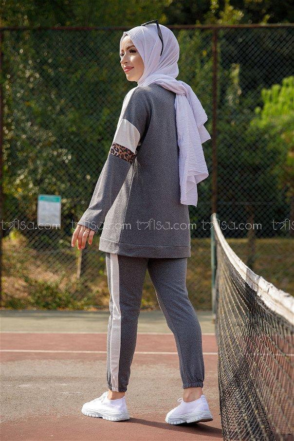 Tunic Pants SMOKED- 8828