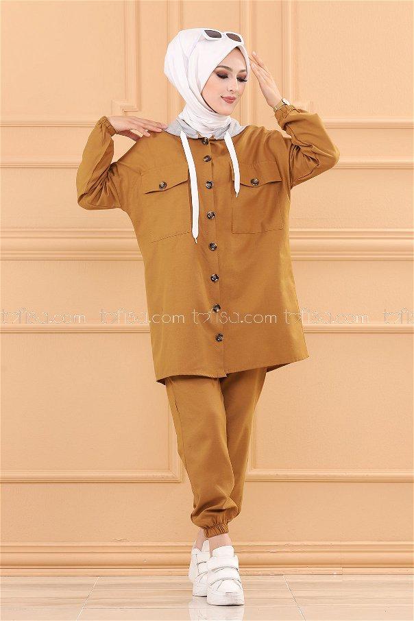 Tunic Pants TAN - 3535
