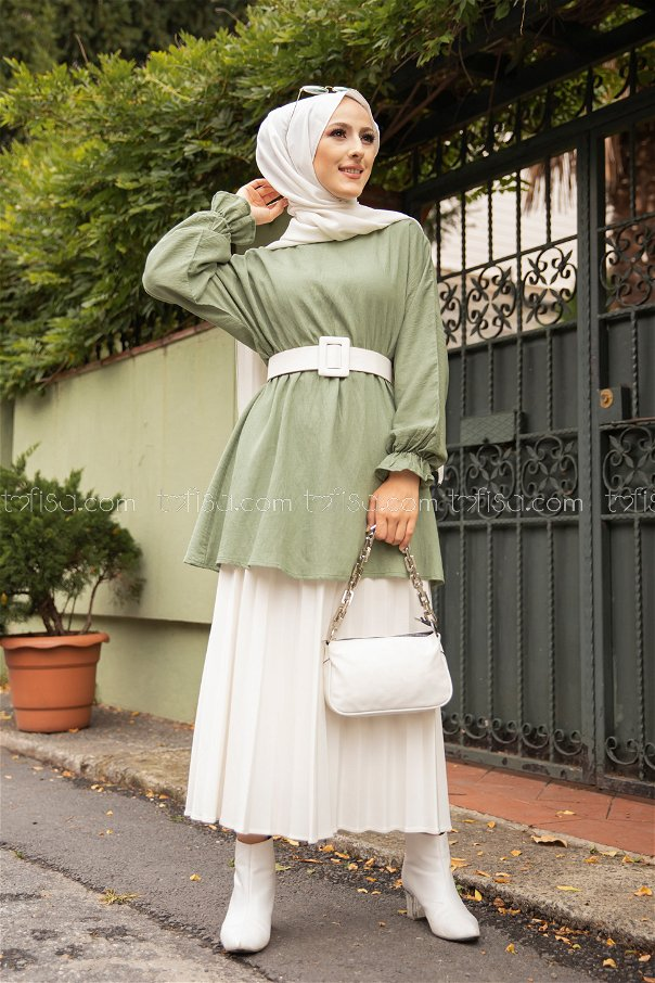 Tunic Pistachio Green - 3265
