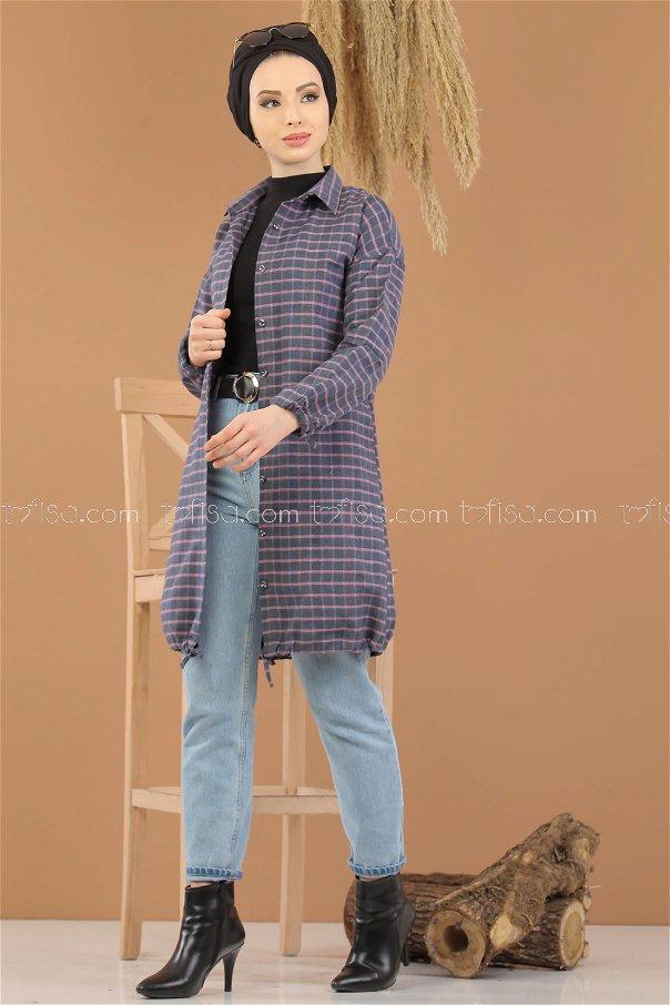 Tunic Plaid gray - 8284