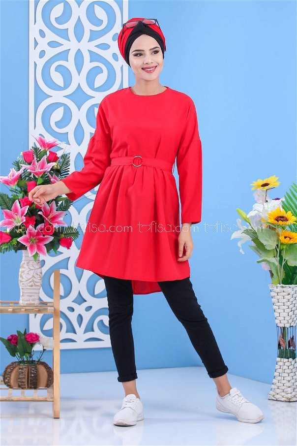 Tunic Red - 02 7175