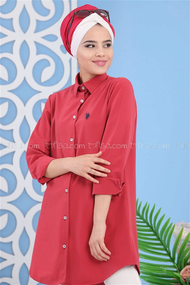 Tunic Red - 02 7283