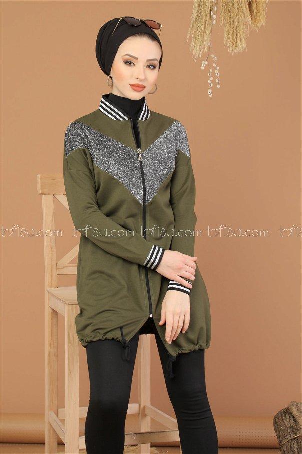 Tunic Silvery khaki - 8220
