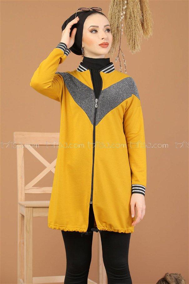 Tunic Silvery Mustard - 8220