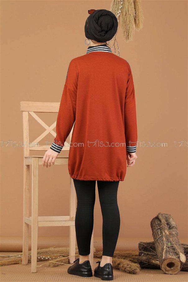 Tunic Silvery orange - 8220