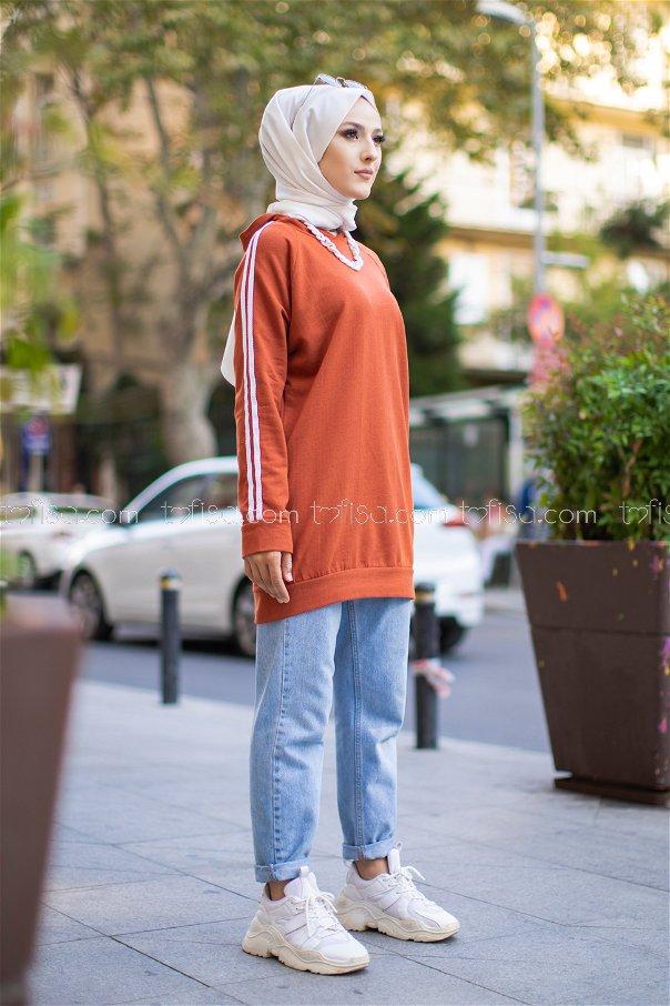 Tunic Sleeve Striped Tile - 2828