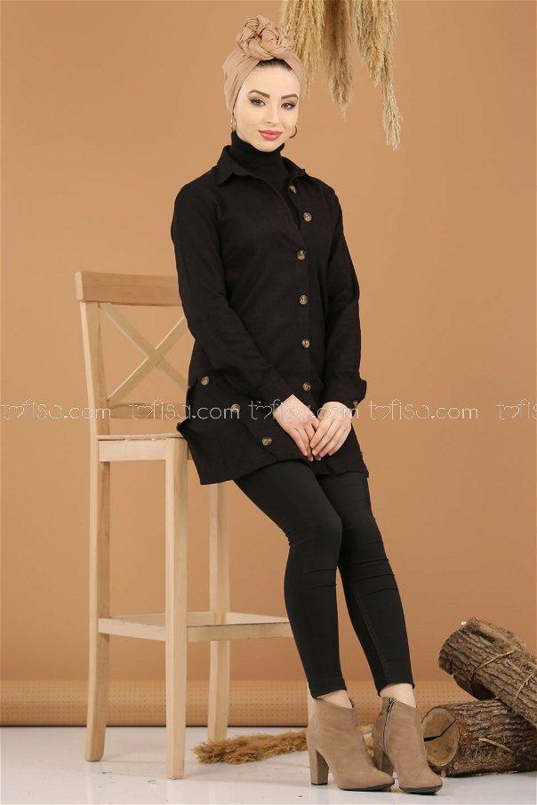Tunic Velvet black - 8290