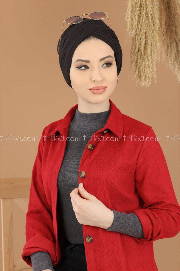 Tunic Velvet claret red - 8290
