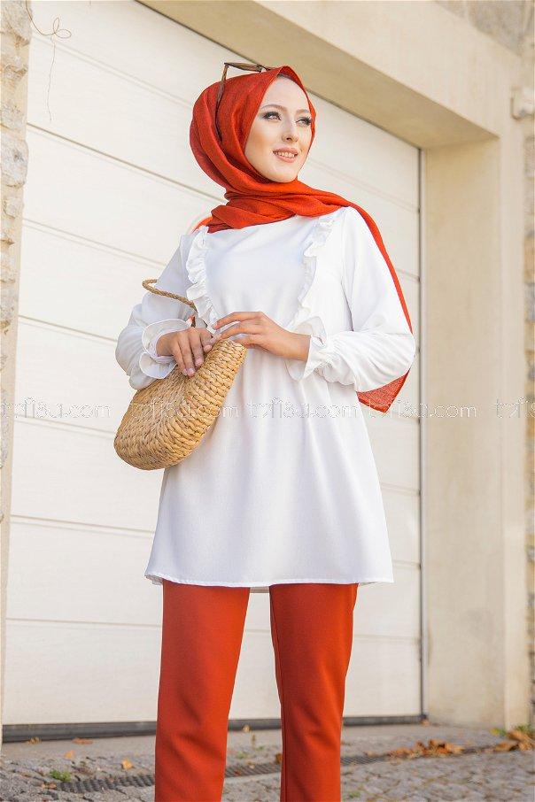 Tunic White - 3263