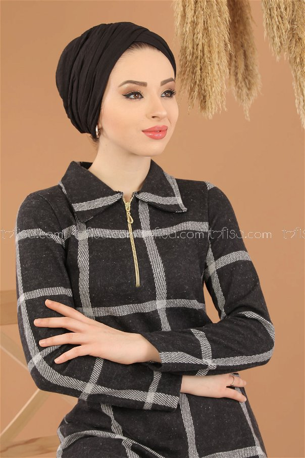 Tunic Zipped gray - 5245