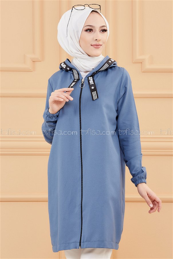 Tunic Zippered Blue - 3038