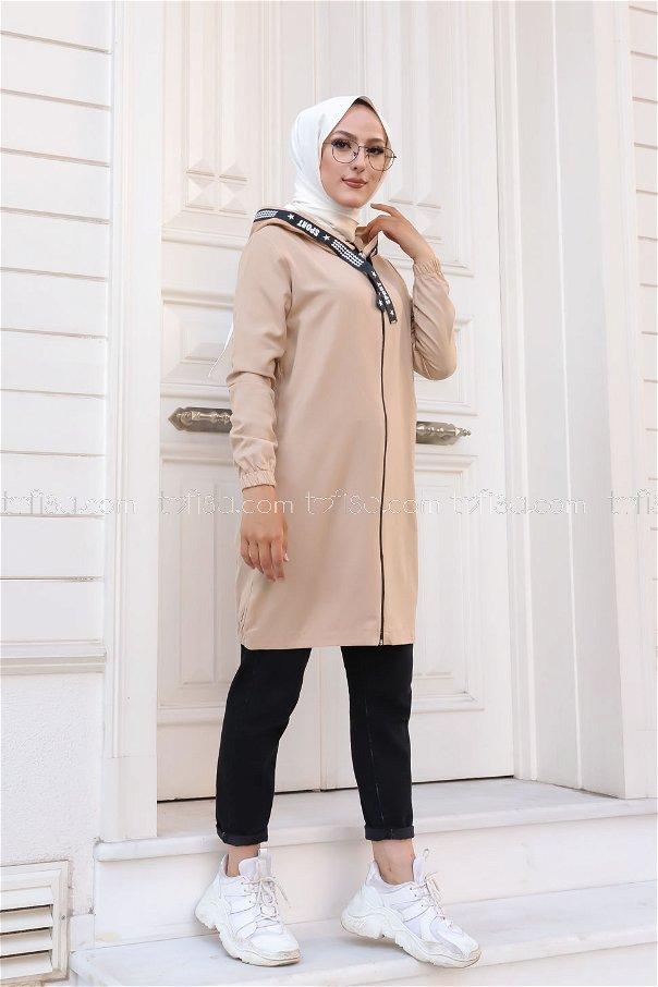 Tunic Zippered Mink - 3038