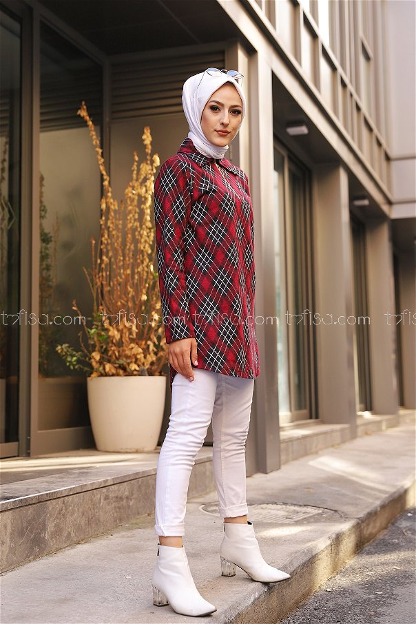 Tunik Bordo - 3345