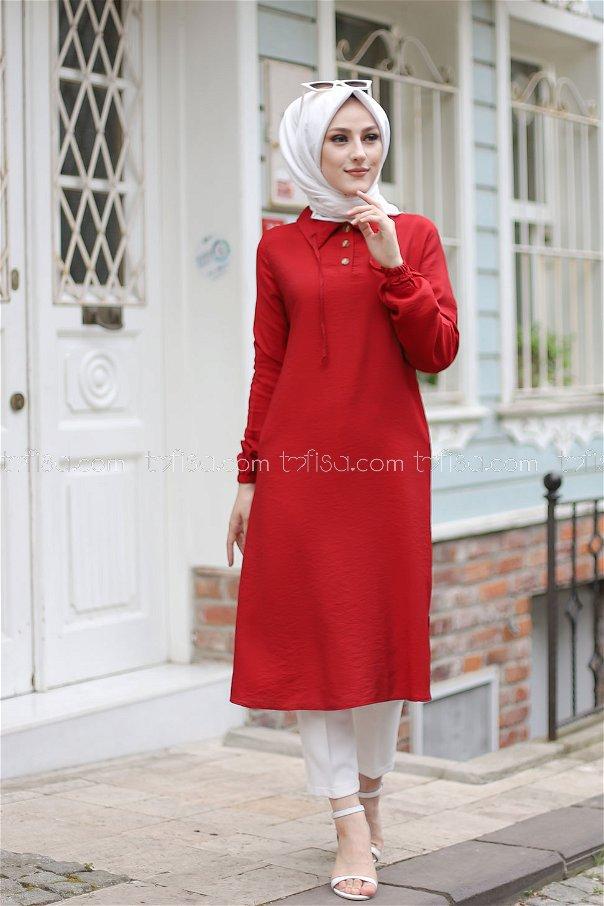 Tunik Kırmızı - 3078