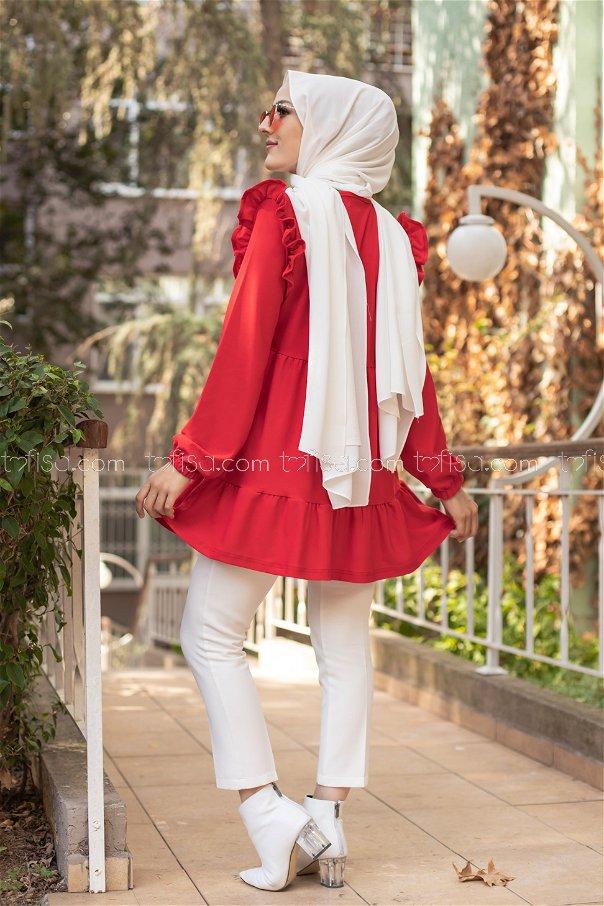 Tunik Kırmızı - 3282