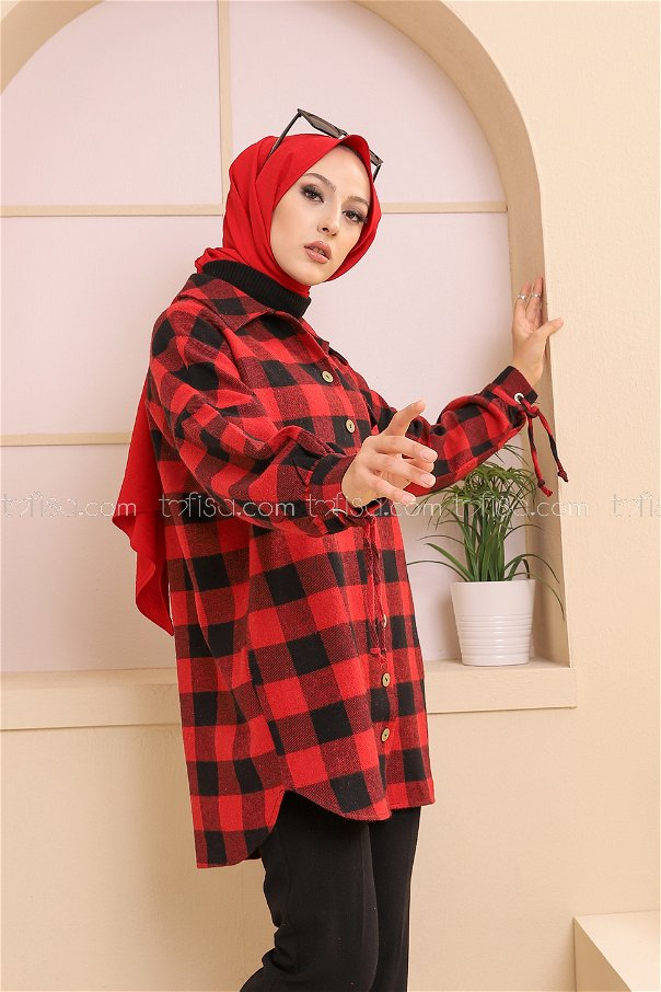 Tunik Kırmızı - 3380