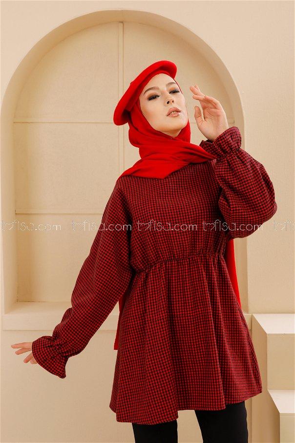 Tunik Kırmızı - 8632