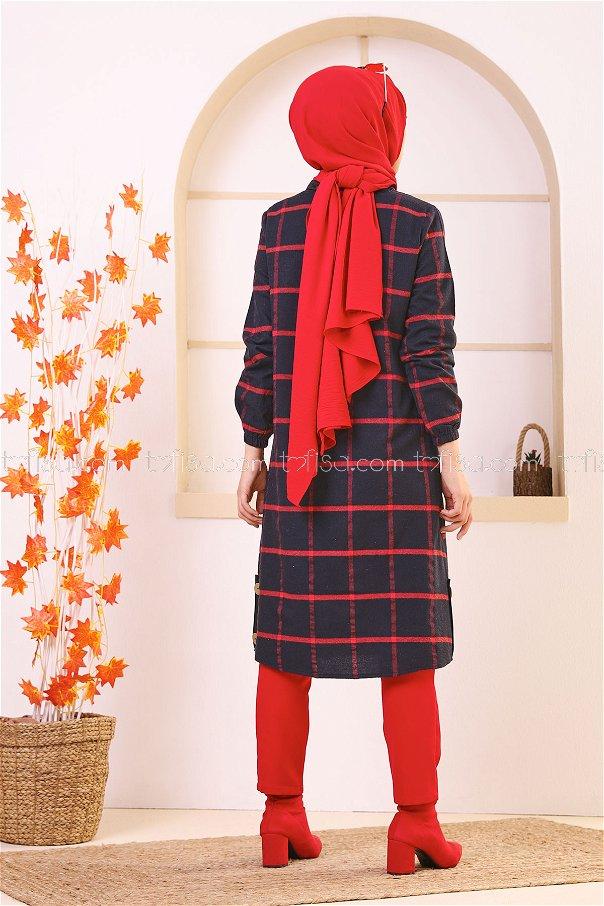 Tunik Kırmızı - 8635