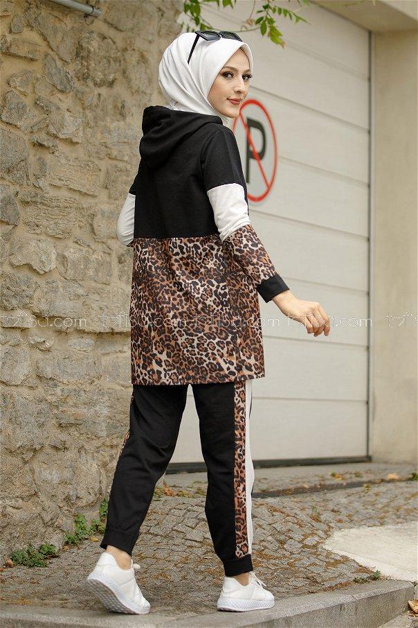 Tunik Pantolon Siyah - 1361