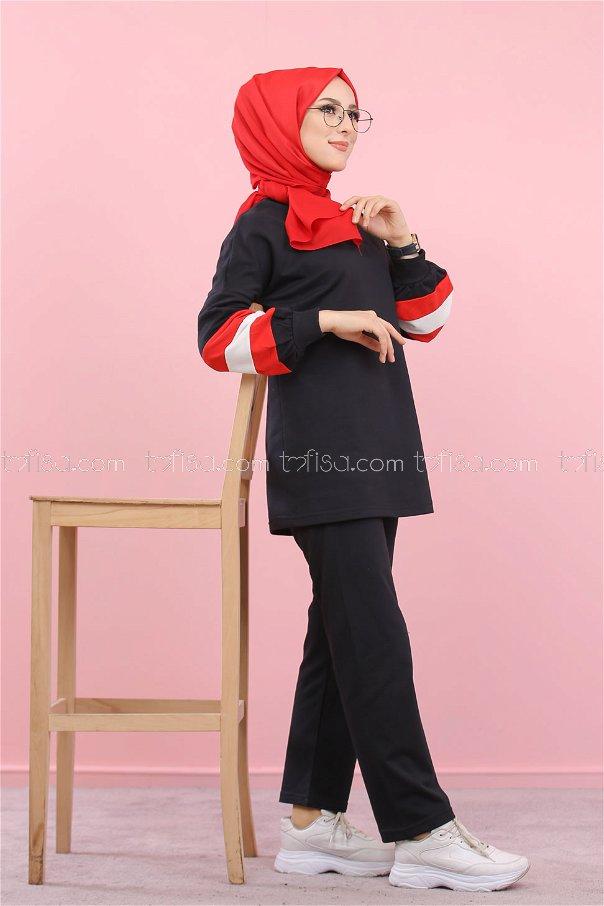Tunik Pantolon Siyah - 1362