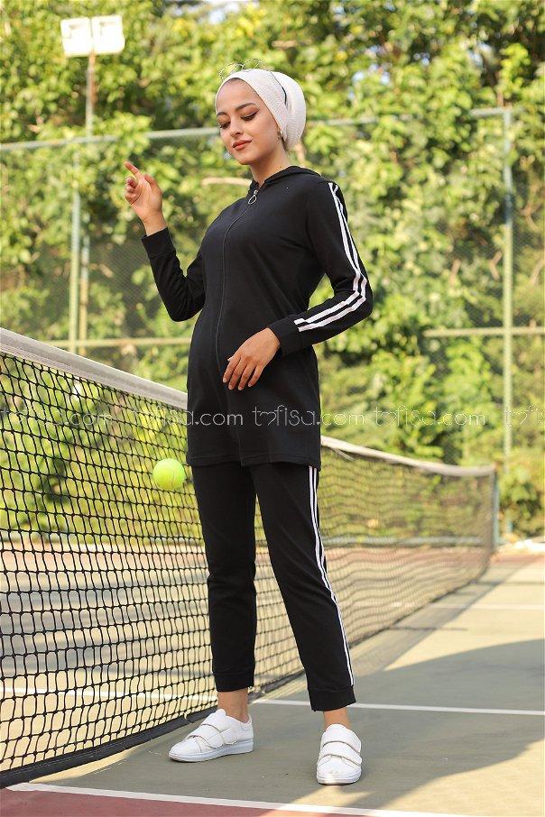 Tunik Pantolon Siyah - 4126