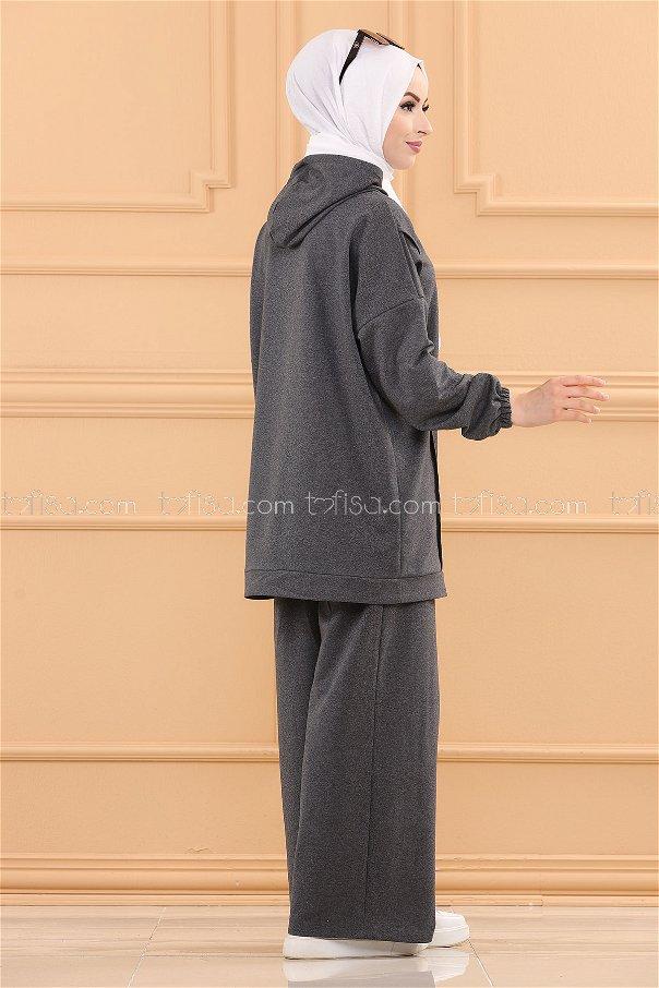 Tunık Pantolon ANTRASIT - 3704