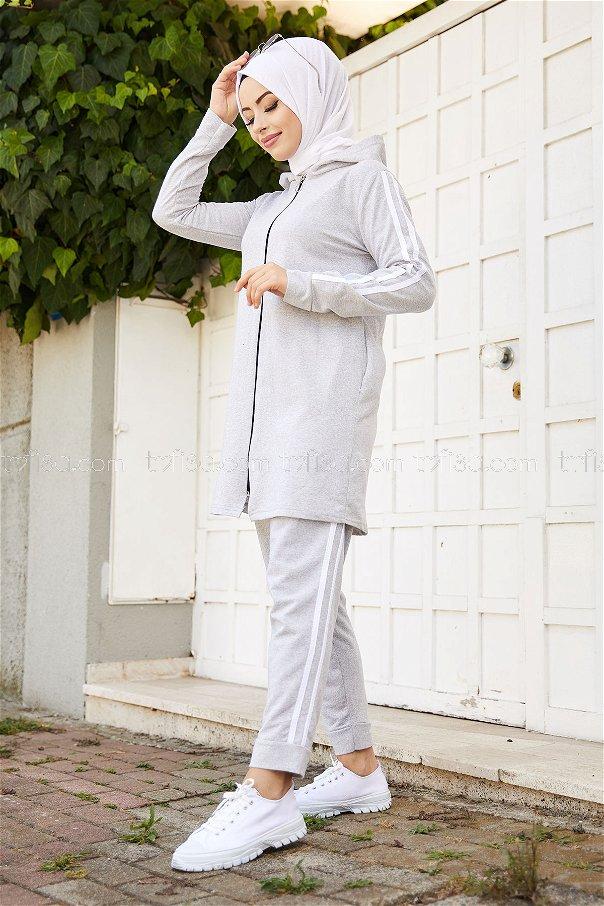 Tunik Pantolon Gri - 4126
