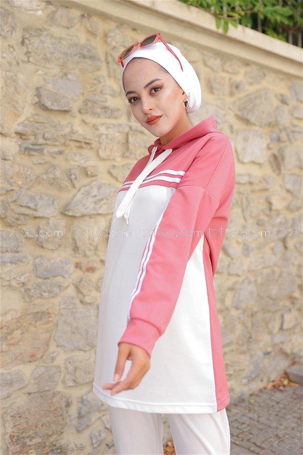 Tunik Pantolon Gül - 3246