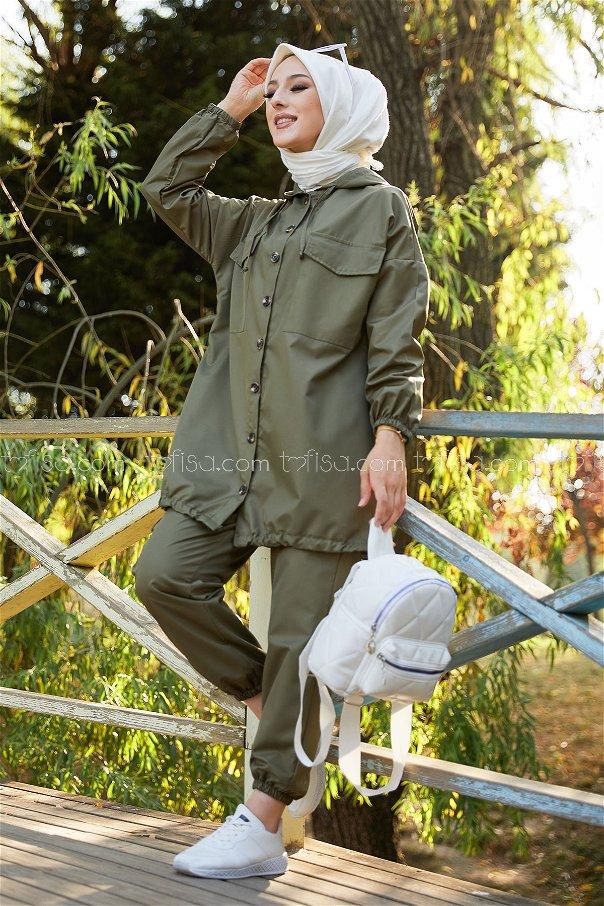 Tunık Pantolon HAKI - 3711