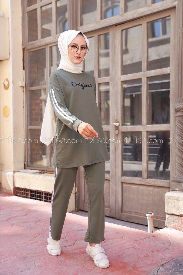 Tunik Pantolon Haki - 8401