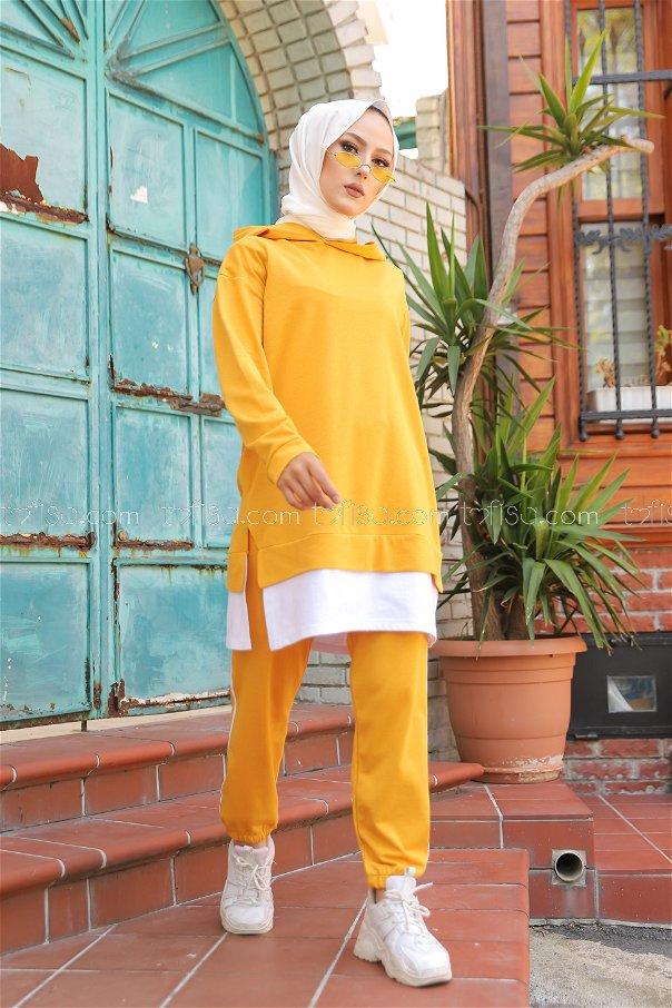 Tunik Pantolon Hardal - 8330