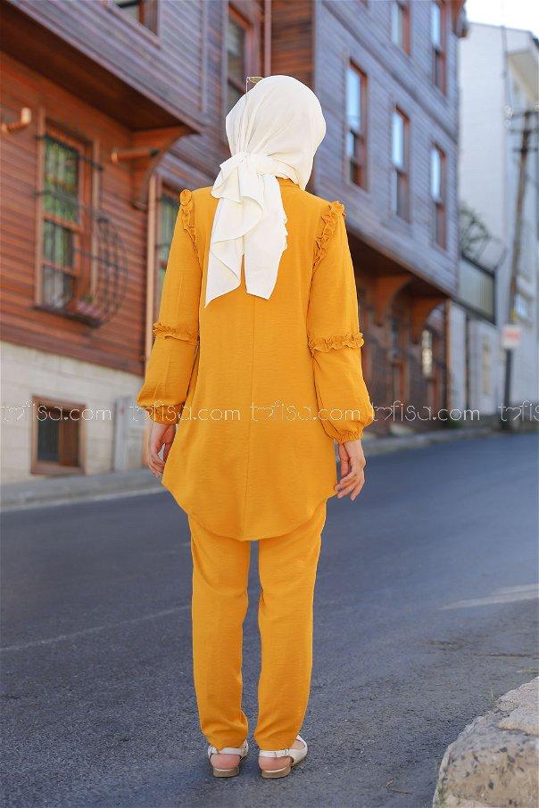 Tunik Pantolon Hardal - 9043