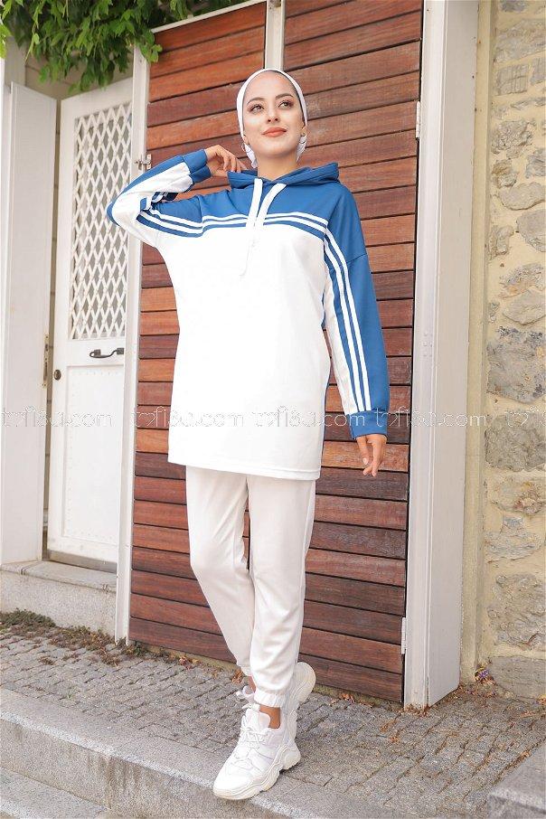 Tunik Pantolon İndigo - 3246
