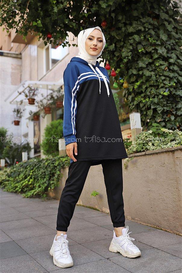 Tunik Pantolon İndigo - 3302