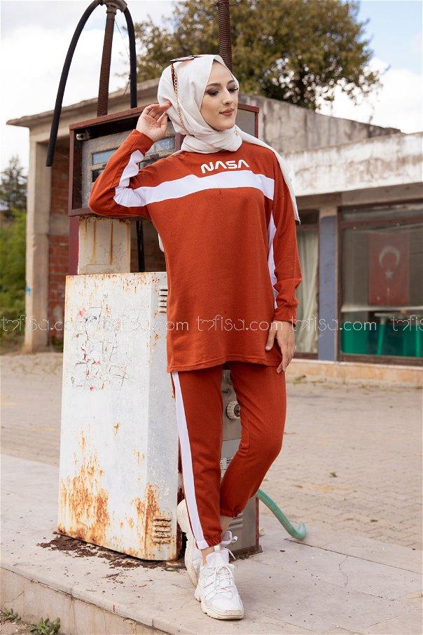 Tunik Pantolon Kiremit - 8412