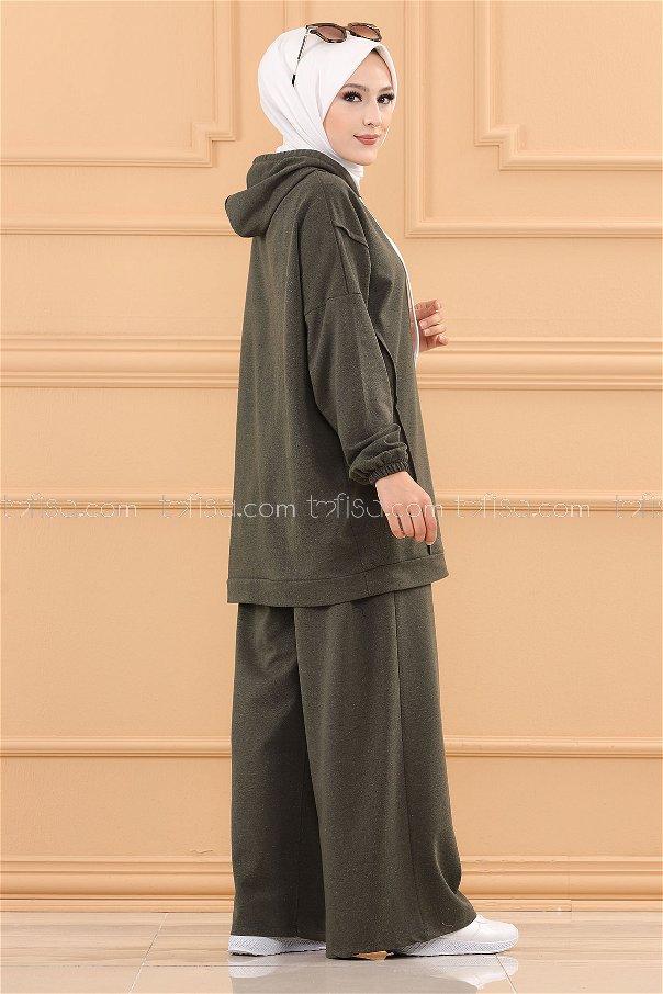 Tunık Pantolon KOYU HAKI - 3704