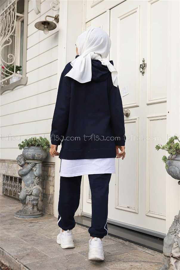Tunik Pantolon Lacivert - 8330