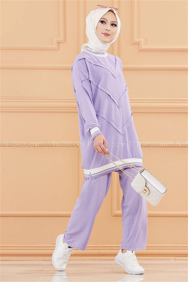Tunık Pantolon LILA - 20683